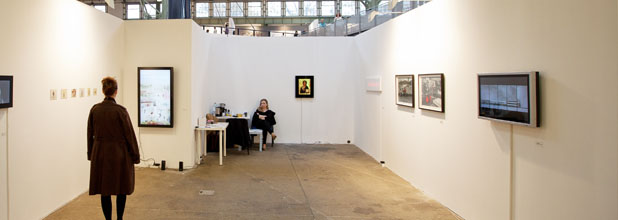 Videospace Gallery at Art Market Budapest, photo: Zoltán Kerekes